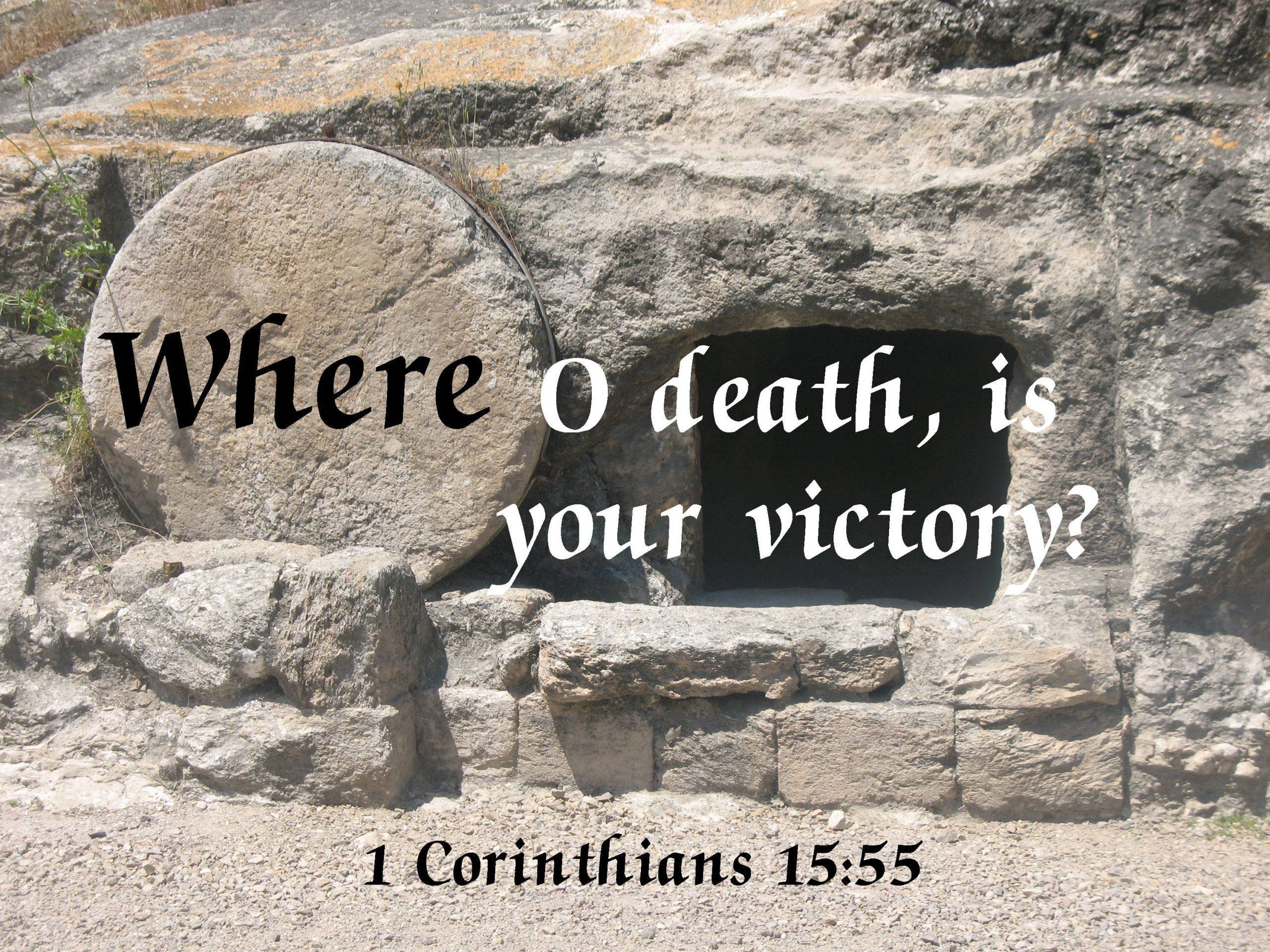 1 Corin. 15:55